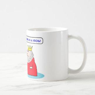king queen nicer frog coffee mug