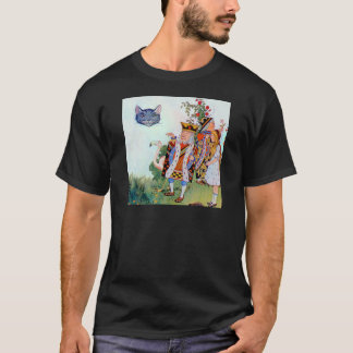 King & Queen of Hearts, Alice & the Cheshire Cat T-Shirt