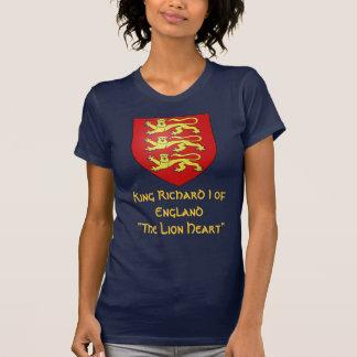 """King Richard I of England """"The Lionheart"""" Shirts"""