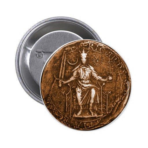 King Richard I, The Lion Heart Pins