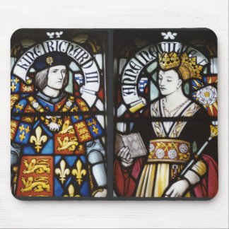 KING RICHARD III AND QUEEN ANNE MOUSE PAD