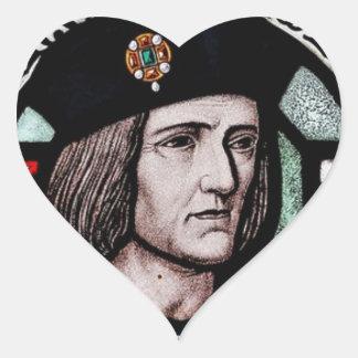 KING RICHARD lll SOUVENIR Heart Sticker