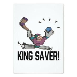 King Saver 13 Cm X 18 Cm Invitation Card