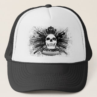 King Skull Trucker Hat