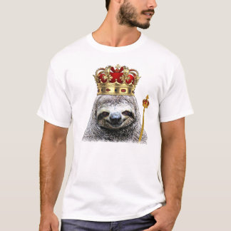 King sloth T-shirt