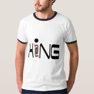 king solitaire t-shirt