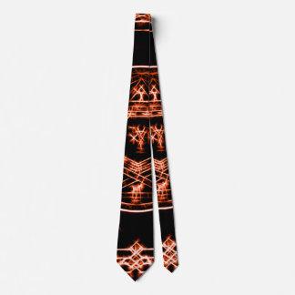 King Solomon Copper Magick Circle Tie