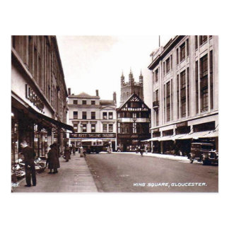 King Square, Gloucester Postcard