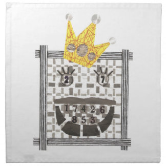 King Sudoku Cloth Napkins
