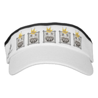 King Sudoku Visor Hat