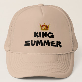 king summer trucker hat