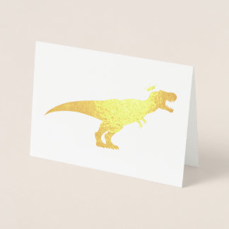 King T-Rex Foil Card