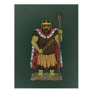 King Troll Postcard