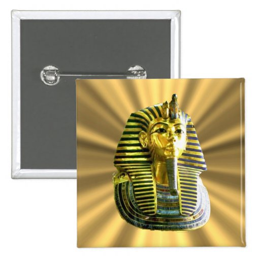 King Tut #2 Buttons
