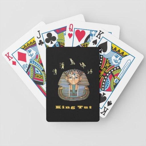 King tut art  products poker deck