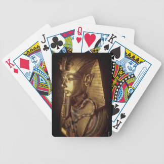 King tut bicycle playing cards