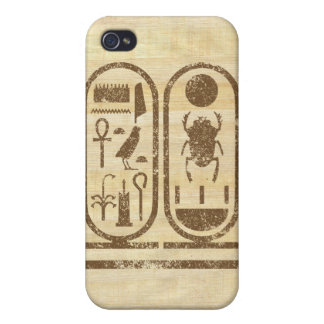 King Tut Cartouche Covers For iPhone 4