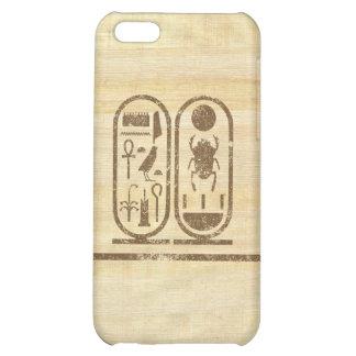 King Tut Cartouche iPhone 5C Cases
