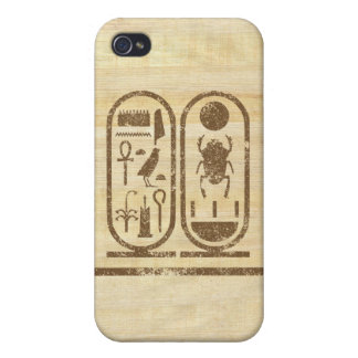 King Tut Cartouche Case For iPhone 4