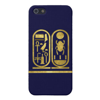 King Tut Cartouche Cover For iPhone 5/5S