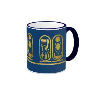 King Tut Cartouche Coffee Mug