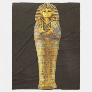 KING TUT Fleece Blanket