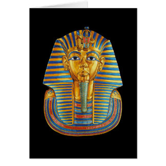 King Tut Greeting Card