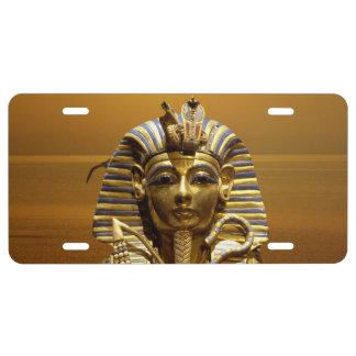 King Tut License Plate