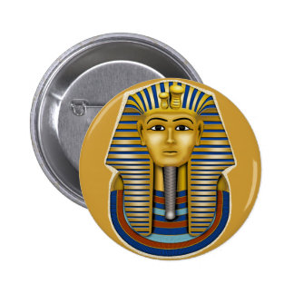 King Tut Mask Costume Tees n Stuff Buttons