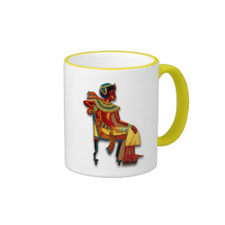 King Tut on his Throne Coffee Mug