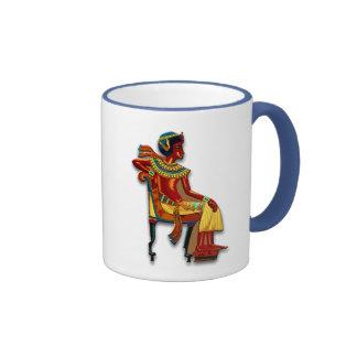 King Tut on his Throne Coffee Mugs