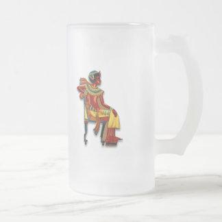 King Tut on his Throne Mugs