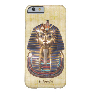 King Tut on Papyrus Barely There iPhone 6 Case