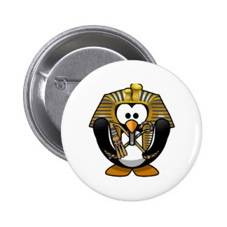 King Tut Penguin Buttons