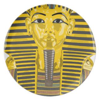 King Tut Plate