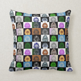 King Tut Pop Art Pillow