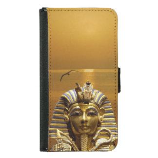 King Tut Samsung Galaxy S5 Wallet Case