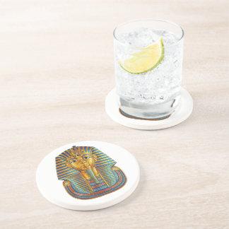 King Tut Sandstone Drink Coaster