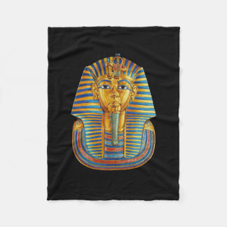 King Tut Small Fleece Blanket