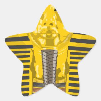King Tut Star Sticker
