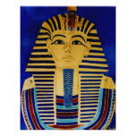 King Tut Tutankhamun Ancient Egypt Art Print