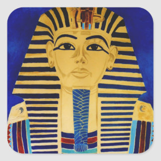 King Tut Tutankhamun art sticker