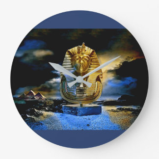 King Tut Wall Clock توت عنخ آمون