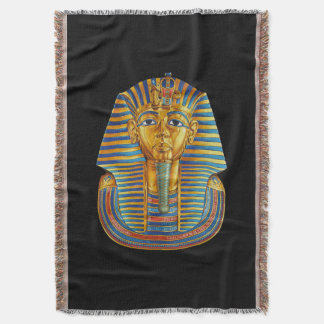 King Tut Woven Throw Blanket