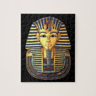 King Tutankhamun, Gold Mask Jigsaw Puzzle