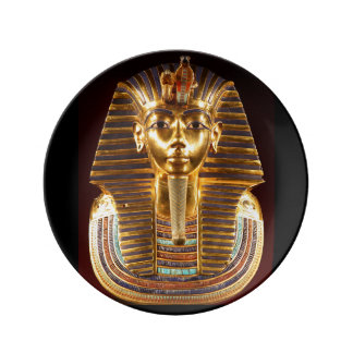 King Tutankhamun, Gold Mask Plate