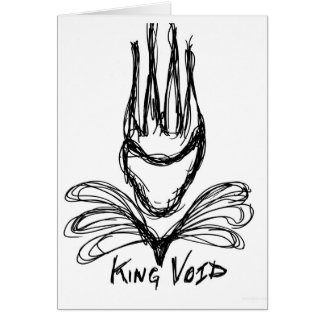"""""""KING VOID"""" CARD"""