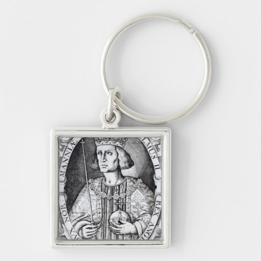 King William II of England, 1618 Key Chains