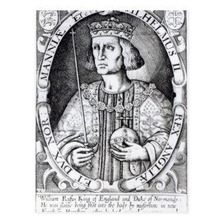 King William II of England, 1618 Postcard