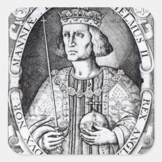 King William II of England, 1618 Square Sticker